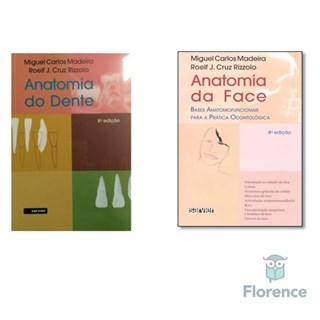 Combo Livros Madeira Anatomia Dente e Face