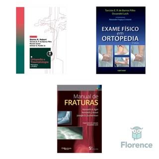 Combo Livros Ortopedia - Sizínio - Koval - Barros