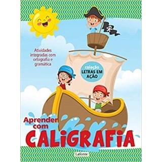 APRENDER COM CALIGRAFIA - VOL. 2 - LAFONTE