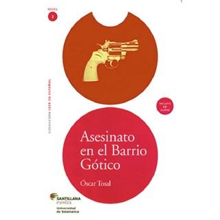 ASESINATO EN EL BARRIO GOTICO - SANTILLANA