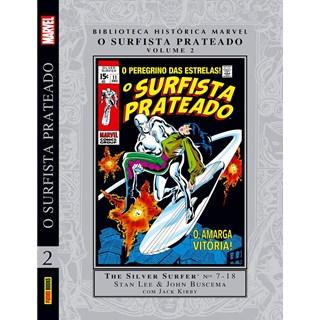 Biblioteca Histórica Marvel - O Surfista Prateado - Vol 2 - Panini