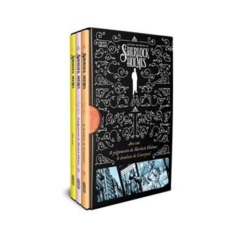 BOX OUTRAS HISTORIAS DE SHERLOCK HOLMES - 3 VOLS - PIXEL