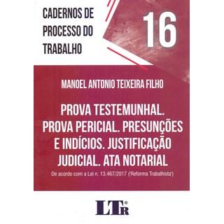 CADERNO DE PROCESSOS DO TRABALHO 16 - LTR