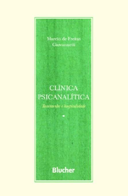 CLINICA PSICANALITICA - BLUCHER