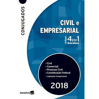 CODIGO CONJUGADO 4 EM 1 CIVIL E EMPRESARIAL - SARAIVA