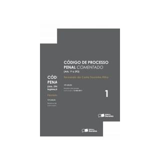 CODIGO DE PROCESSO PENAL COMENTADO - 2 VOLS - SARAIVA
