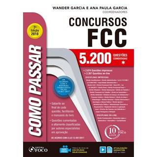 COMO PASSAR EM CONCURSOS FCC - FOCO