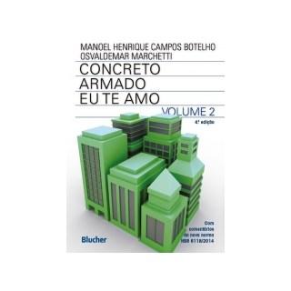 CONCRETO ARMADO EU TE AMO - VOLUME 2 - BLUCHER