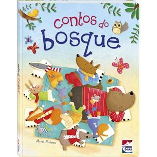 CONTOS ANIMADOS - CONTOS DO BOSQUE - HAPPY BOOKS