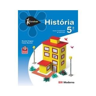 CONVIVER HISTORIA 5 ANO - CED - MODERNA