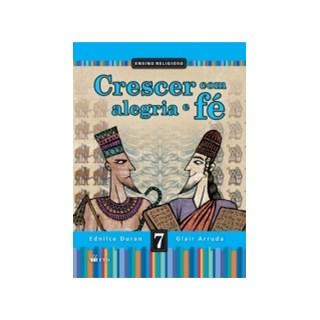 CRESCER COM ALEGRIA E FE 7 ANO - FTD