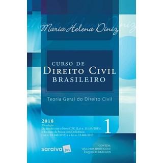 CURSO DE DIREITO CIVIL BRASILEIRO VOL 1 - SARAIVA - 35 ED