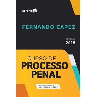 CURSO DE PROCESSO PENAL - CAPEZ - SARAIVA