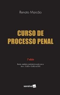 Livro Curso De Processo Penal Marcao Saraiva