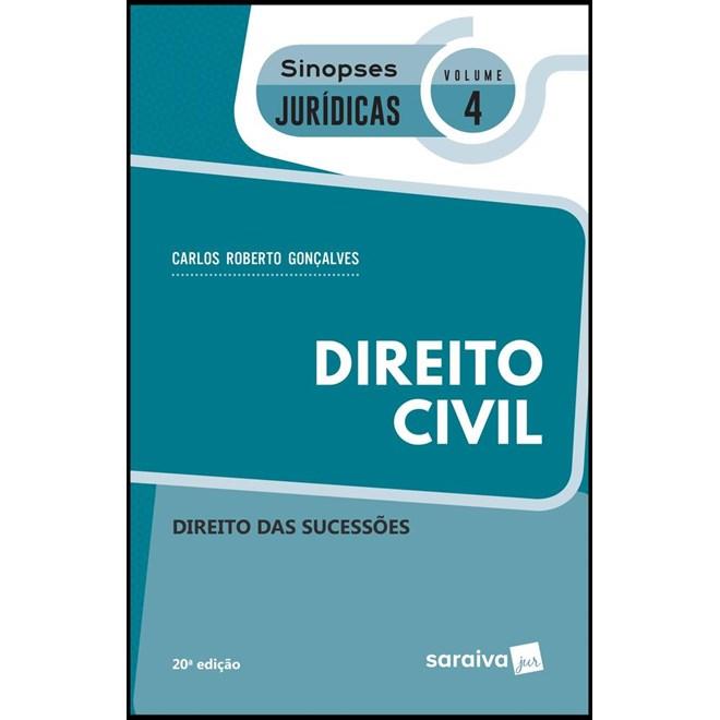 DIREITO CIVIL - DIREITO DAS SUCESSOES - VOL 4 - SINOPSES JURIDICAS - SARAIVA