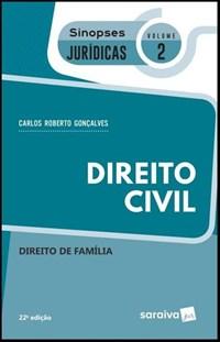 Livro Direito Civil Direito De Familia Vol 2 Sinopses Juridica