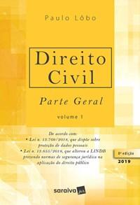 Livro Direito Civil Parte Geral Vol 1 Lobo Saraiva