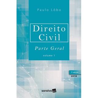 DIREITO CIVIL PARTE GERAL - VOL 1 - LOBO - SARAIVA - 7ED
