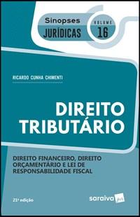 Livro Direito Tributario Vol 16 Sinopses Juridicas Saraiva
