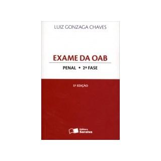 EXAME DA OAB PENAL 2 FASE - SARAIVA