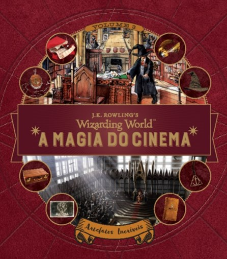 HARRY POTTER - A MAGIA DO CINEMA - ARTEFATOS INCRIVEIS - VOL  3 - PANINI
