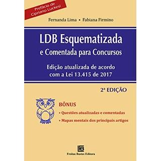 ivro Ldb Esquematizada e Comentada Para Concursos - Freitas Bastos