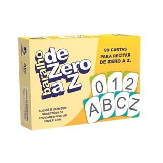 Jogo - Baralho de Zero a Z - Idea