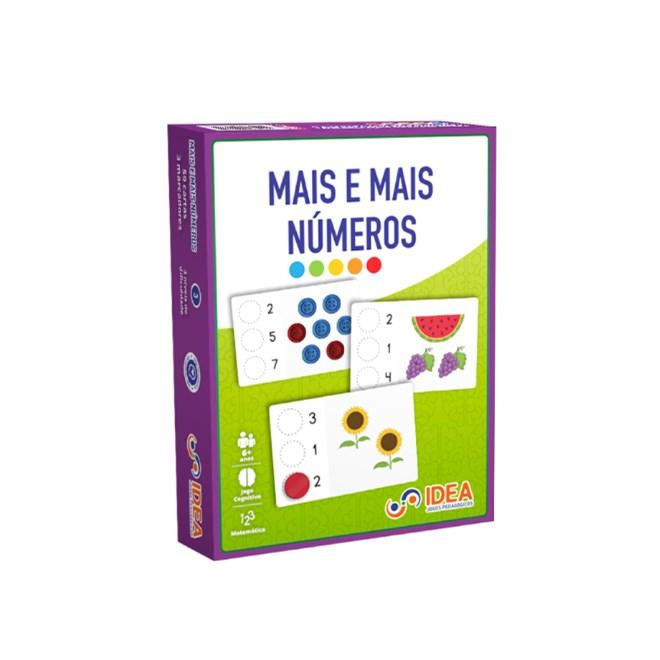 Jogo - Mais e Mais Números - Idea