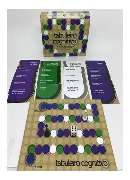 Jogo - Tabuleiro Cognitivo - Brandão