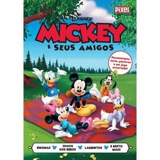 Livrão Mickey e Seus Amigos - Disney - Pixel