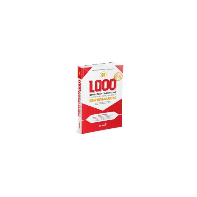 Livro - 1.000 Questões Comentadas de Enfermagem - Vários