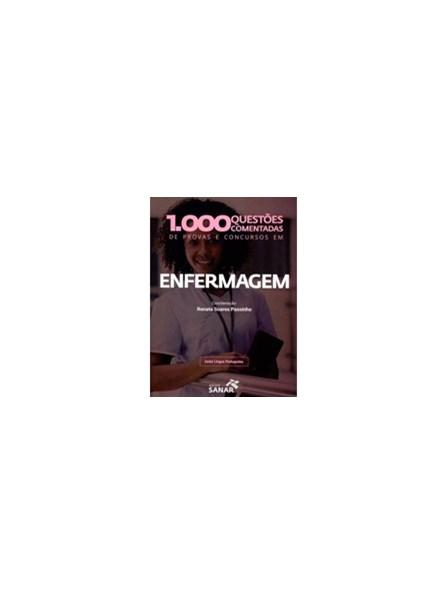 Livro - 1.000 Questões Comentadas de Provas e Concursos em Enfermagem - Passinho