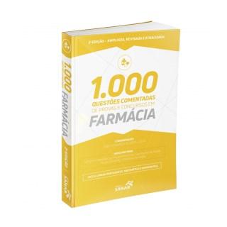 Livro - 1.000 Questões Comentadas de Provas e Concursos em Farmácia - Costa