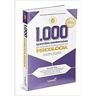 Livro 1.000 Questões Comentadas de Provas e Concursos em Psicologia - Uzeda
