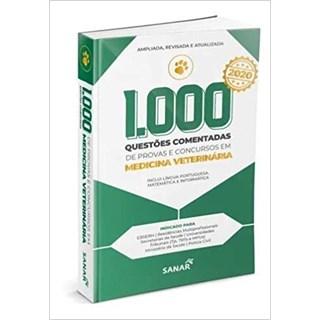 Livro - 1.000 Questões Comentadas para Provas e Concursos em Medicina Veterinária - Spinola - Sanar