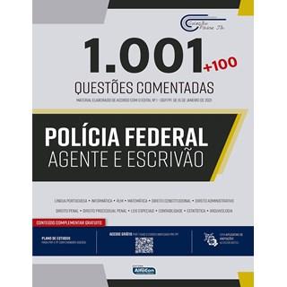 Livro 1.001 Questões Comentadas - Alfacon