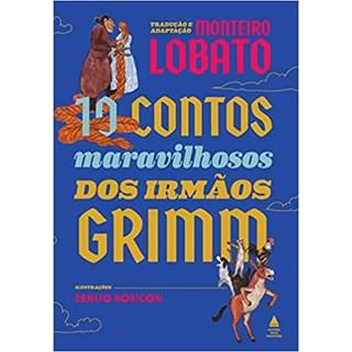 Livro - 10 Contos Maravilhosos Dos Irmãos Grimm - Grimm - Nova Fronteira