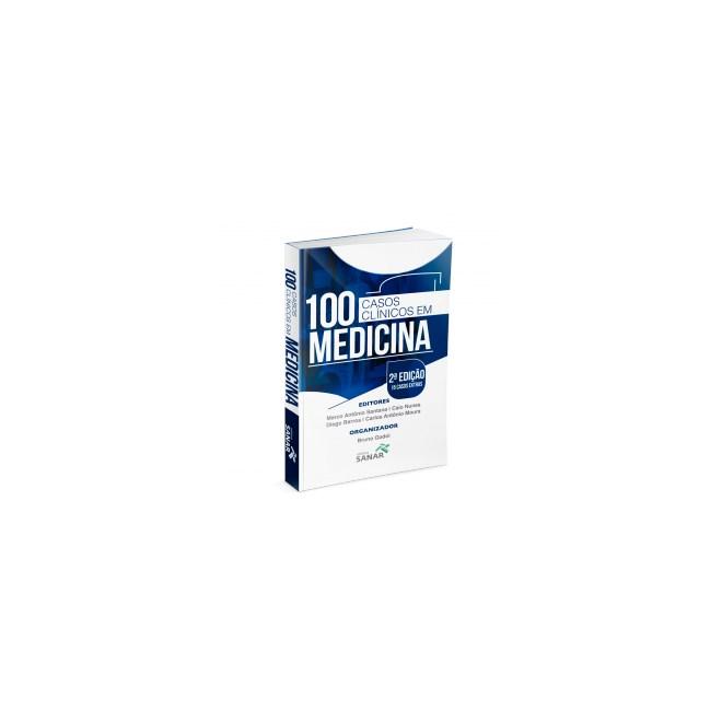 Livro - 100 Casos Clínicos em Medicina - Esquematizados e Comentados - Nunes 2ª edição