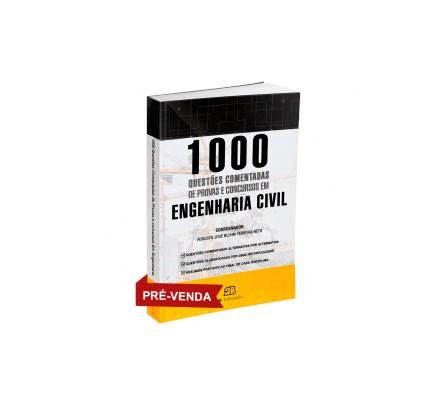 Livro - 1000 Questões Comentadas de Concursos em Engenharia Civil - Bluhm 1ª edição