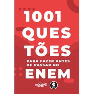 Livro - 1001 Questões Para Fazer Antes de Passar no ENEM - Ortiz