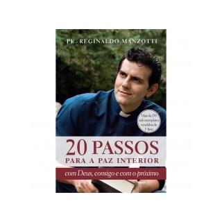 Livro - 20 Passos Para A Paz Interior - Agir - Ed Antiga - Manzotti