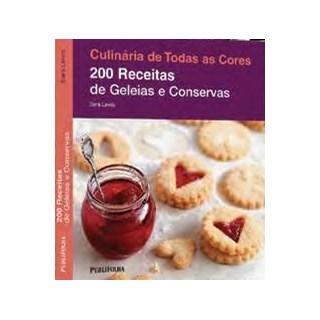 Livro - 200 receitas de Geléias e Conservas - Lewis - Publifolha