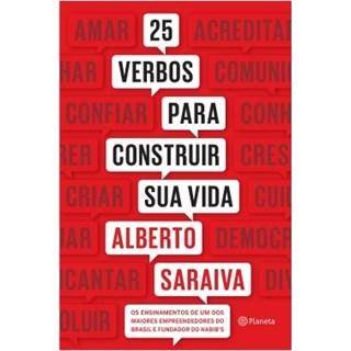 Livro - 25 Verbos Para Construir Sua Vida - Saraiva - Planeta