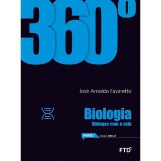 Livro - 360° Biologia EM - Favaretto - FTD