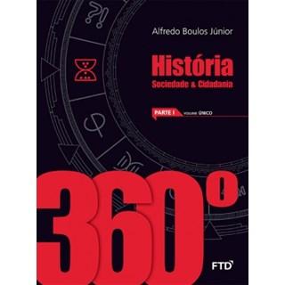 Livro - 360° História - EM - Boulos Jr. - FTD