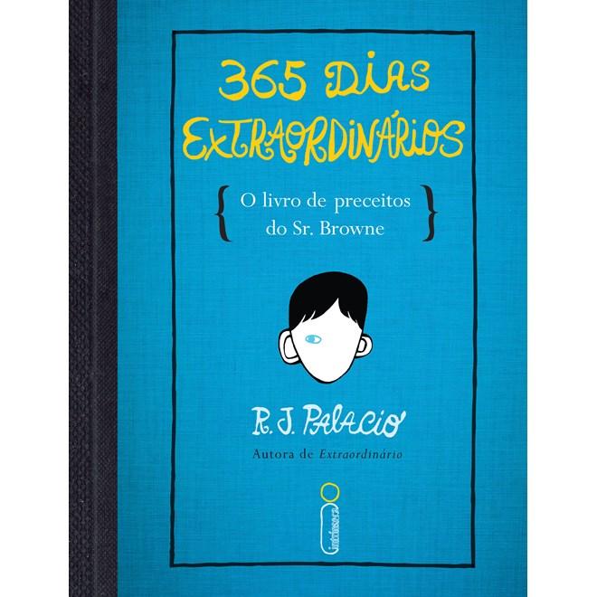 Livro -365 Dias Extraordinários -Palacio