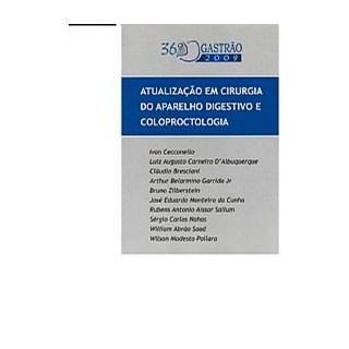 Livro - 37o. Gastrão - Atualização em Cirurgia do Aparelho Digestivo e Coloproctologia - Cecconello