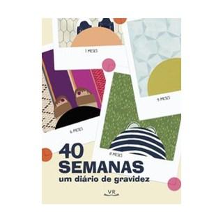 Livro - 40 Semanas: Um Diário de Gravidez - Pocrass 1º edição