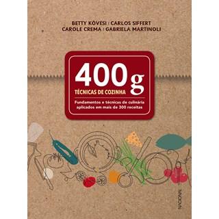 Livro 400g: Técnicas de Cozinha - Kövesi - Companhia Editora Nacional