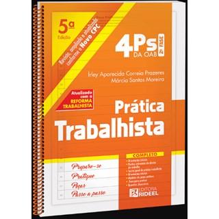 Livro - 4Ps da OAB - Prática Trabalhista - Prazeres